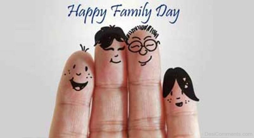 Happy-Family-Day-Fingers-Art-Picture